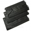 Маска защитная 3-х слойная черная (50шт.)